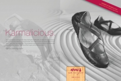 Featured in Ahnu's Footware 2013 Ad for Yoga Journal