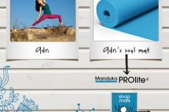 Featured in Spring 2012 Manduka Website and Catalog