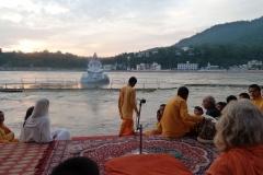Ganga Arti with Swami-ji
