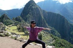 Our Visit To Mauch Picchu with the amazing Yogis!  Exploring the beautiful Machu Picchu