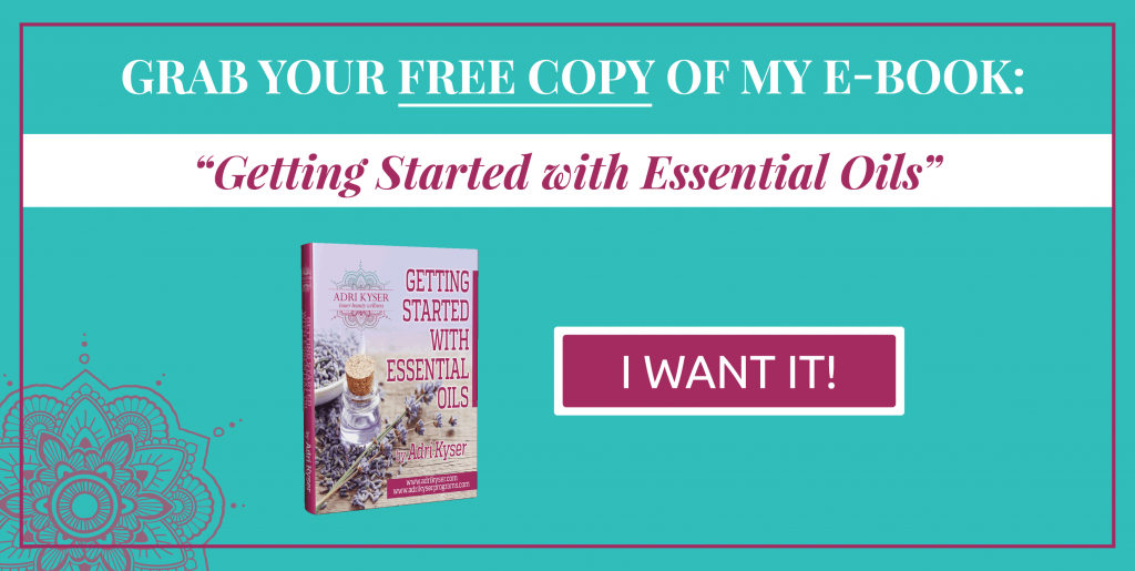 Getting Started with Essential Oils | Adri Kyser