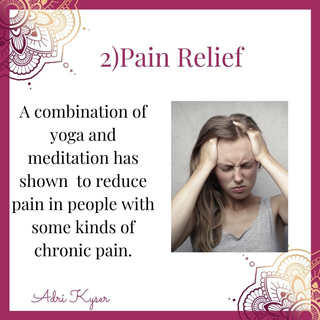 Practice Yoga For Pain Relief - Adri Kyser