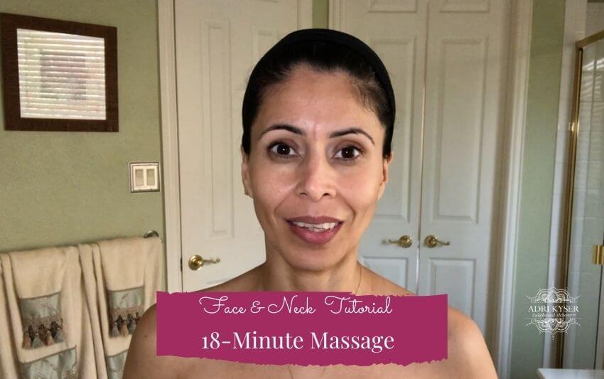 Gua Sha Face & Neck Massage - Adri Kyser
