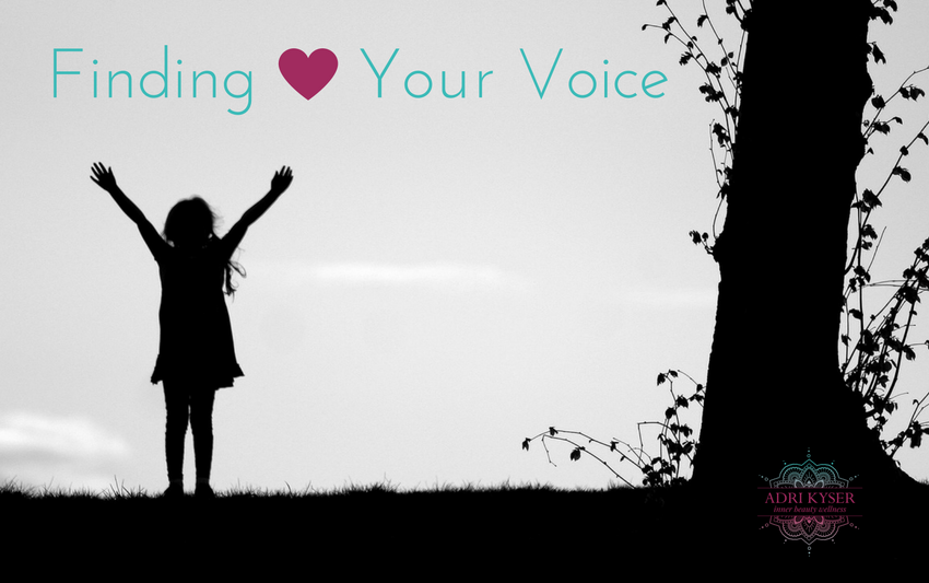 Finding Your Voice - Adri Kyser