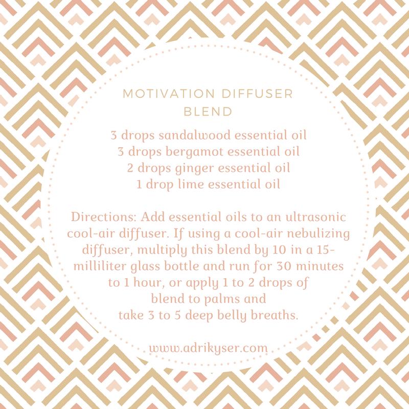 Motivation Diffuser Blend | Adri Kyser