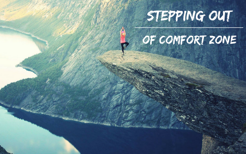 Stepping out of comfort zone | Adri Kyser